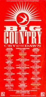 Big Country Tour leaflet